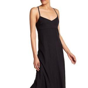 Theory Black Haranna maxi dress size 0